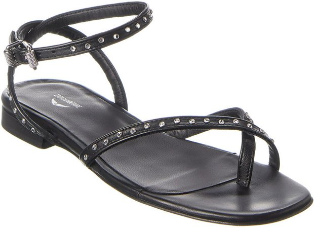 Paros Leather Sandal