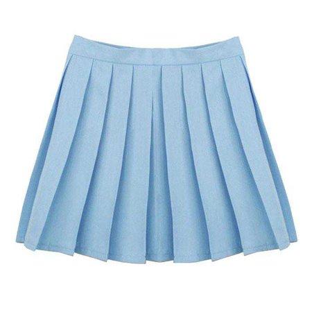 LIGHT BLUE TENNIS SKIRT on Storenvy