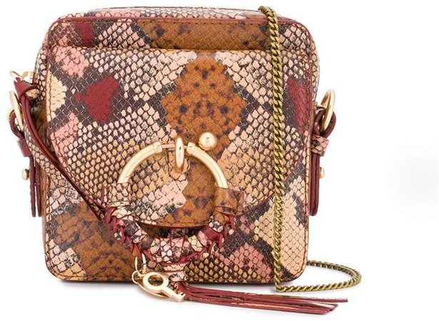 Joan cross body camera bag