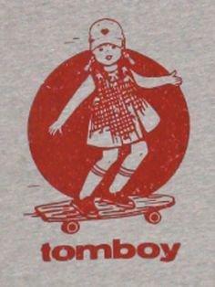 retro tomboy vintage aesthetic