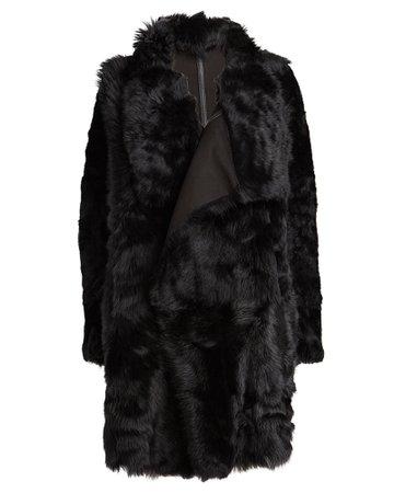 Yves Salomon | Reversible Shearling Coat | INTERMIX®