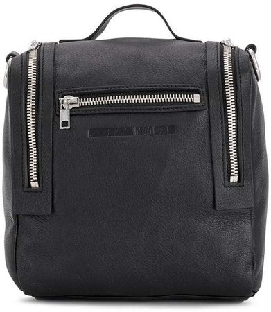 box-shaped backpack