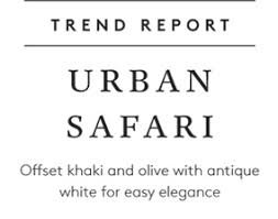 Trend Report Urban Safari