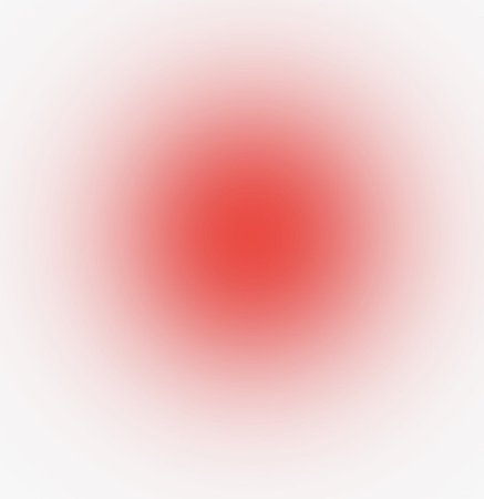 Red Faded Circle