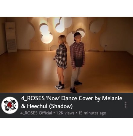 Melanie & Heechul 'Now' Dance Cover