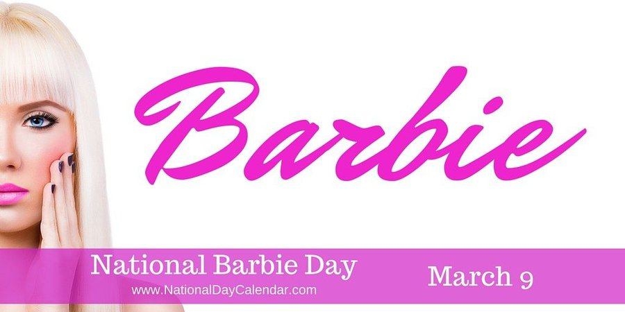 national barbie day 2019 - Google Search