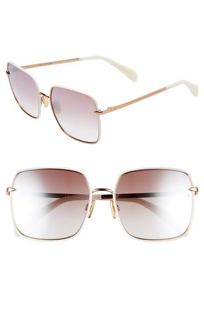 rag & bone 58mm Square Sunglasses   Nordstrom