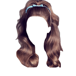 brown hair 30s 40s 50s 60s png