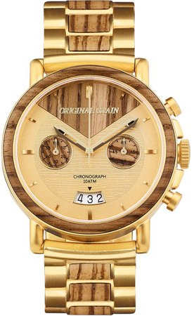 Alterra Chronograph Bracelet Watch, 44mm