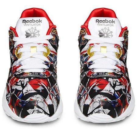 Reebok X Olka Osadzinska Printed Women's Ventilator Low Top Sneaker ($57)