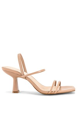RAYE Scribble Heel in Tan | REVOLVE