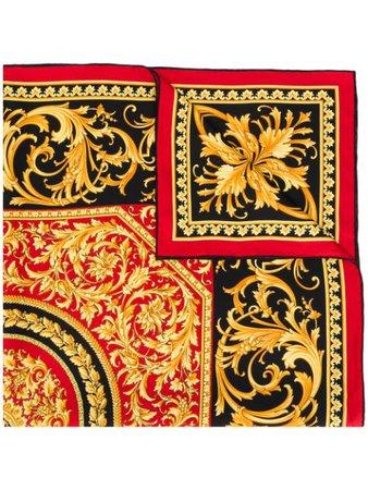 Versace Barocco Print Scarf - Farfetch