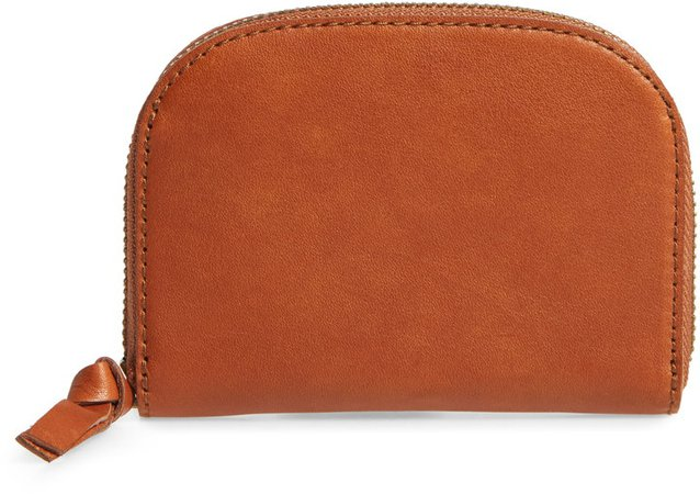 The Zip Leather Wallet