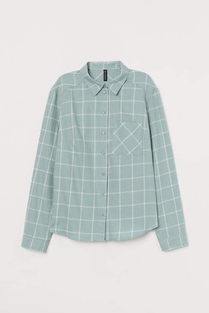 Cotton Shirt - Green