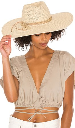 Hat Attack Hampton Hat in Natural | REVOLVE
