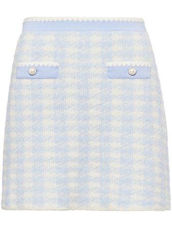 Miu Miu Bouclé Pencil Skirt - Farfetch