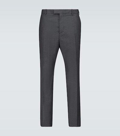 Incotex - Slim-fit cotton-blend pants | Mytheresa