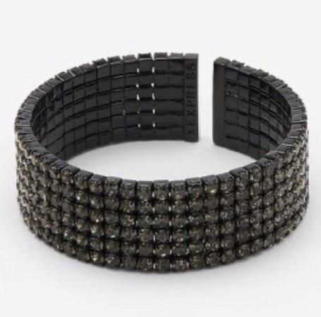 Black elegant bracelet