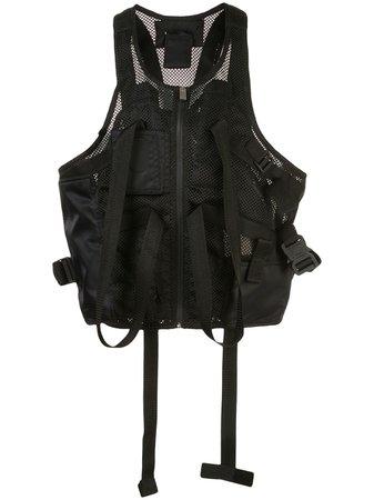 1017 Alyx 9Sm Multi-Strap Mesh Vest AAMOU0035FA02 Black | Farfetch
