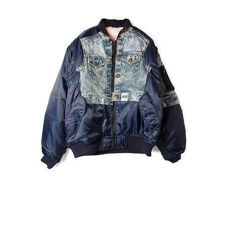 Puffy Blue Jacket