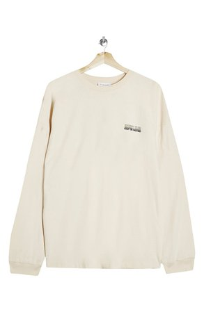 Topshop Long Sleeve Energy Graphic Tee | Nordstrom