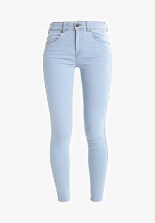 Dr.Denim LEXY - Jeans Skinny Fit - void blue raw hem - Zalando.co.uk