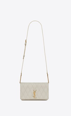 Saint Laurent ‎ANGIE Chain Bag In Diamond Quilted Lambskin ‎ | YSL.com