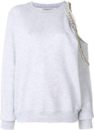 Forte Dei Marmi Cindy Crawford embellished sweatshirt