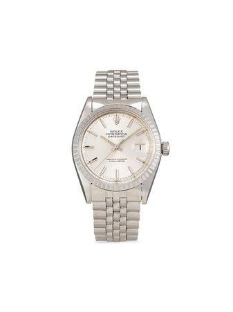 Rolex Pre-owned Datejust 36 Mm Klocka Från 1975 - Farfetch