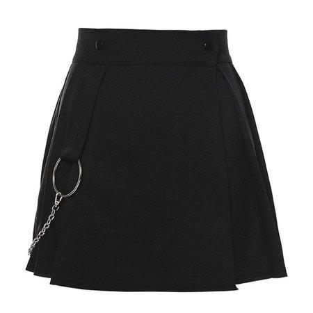 Women High Waist Pleated Skirt Sweet Cute Girls Dance Mini Skirt Black White Skirt Kawaii Female Mini Skirts Short F3|Skirts| - AliExpress