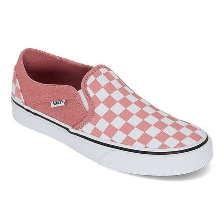 Vans Asher Womens Skate Shoes, Color: Rose Dawn - JCPenney