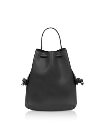 Meli Melo Black Nappa Briony Mini Backpack