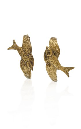 Zimmermann Swallow Hoop Earrings