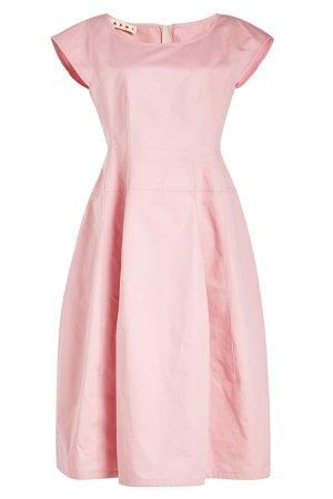 Cotton-Blend Dress Gr. IT 40