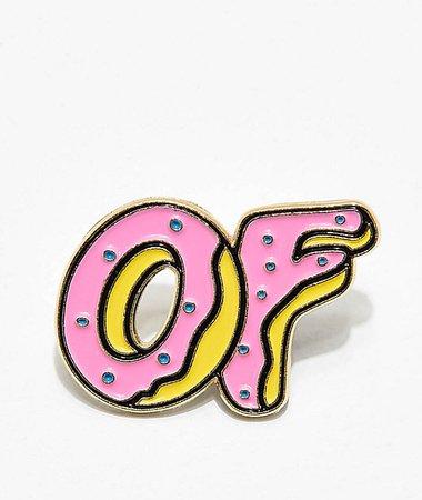 Odd Future Donut Enamel Pin | Zumiez