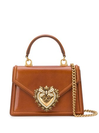 Dolce & Gabbana nano Devotion tote bag brown BB6711AX059 - Farfetch