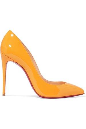 Christian Louboutin | Pigalle Follies 100 patent-leather pumps | NET-A-PORTER.COM
