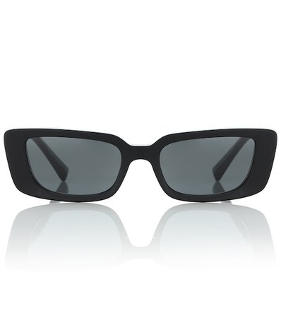 Virtus Rectangular Sunglasses | Versace - Mytheresa