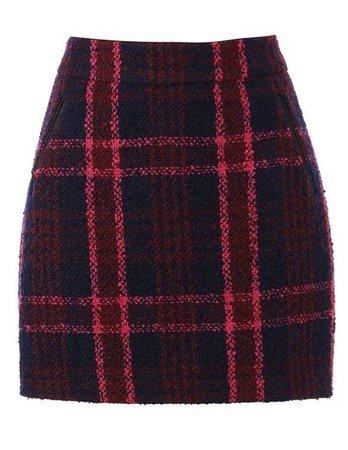 Oasis Marley Check Mini Skirt
