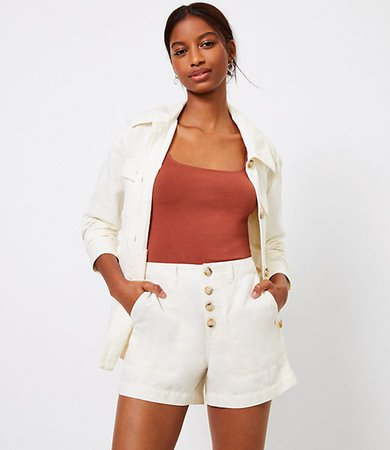The Petite Casual Utility Short