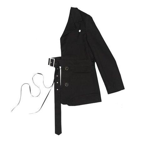 black half jacket