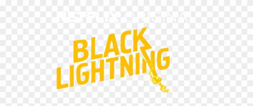 Black Lightning - Black Lightning Title Png Clipart (#4009724) - PinClipart