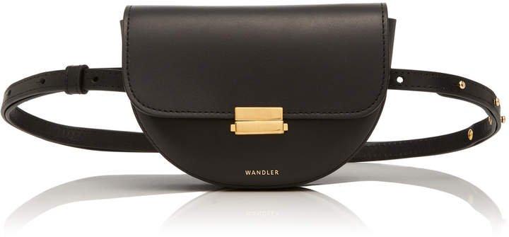 Anna Small Leather Belt Bag