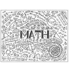 Math formula Royalty Free Vector Image - VectorStock