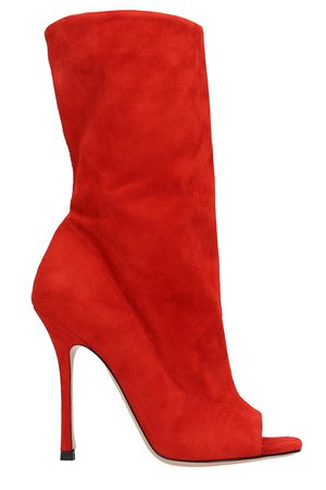 Marc Ellis Red Suede Boots