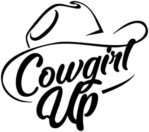 Cowgirl Up Ride Horse Equestrian Lettering Vinyl Decal Wall   Etsy