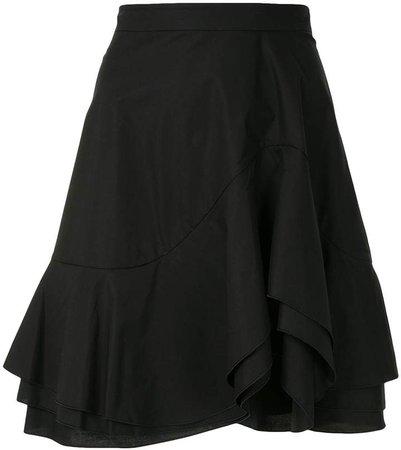 Layered Flared Skirt
