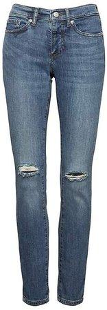 Slim-Straight Medium Wash Jean