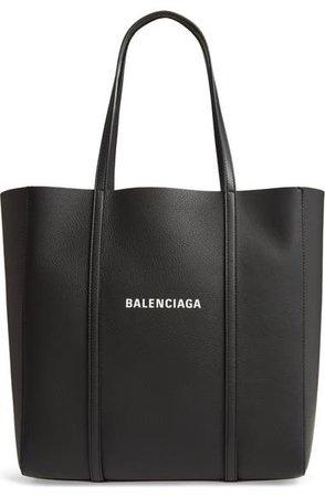Balenciaga Small Everyday Logo Calfskin Tote | Nordstrom