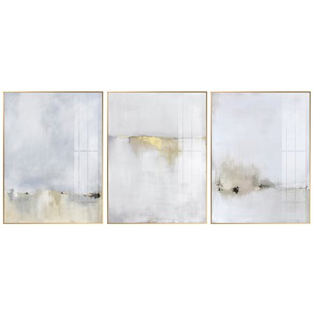 Abstract White light gold Canvas Painting Posters Prints Minimalist style Wall Art Pictures For Living Room Bedroom Aisle Studio-in Painting & Calligraphy from Home & Garden on Aliexpress.com | Alibaba Group